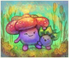 Pokemon: Mum by Louivi