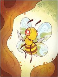 Pokemon #015 Beedrill by Louivi