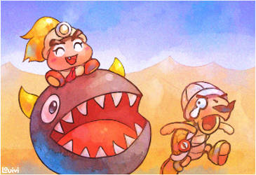 Goombario's Quest - Goombella Joins the Party by Louivi
