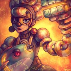 ARMS - Replicant's Nuka-Lola by Louivi