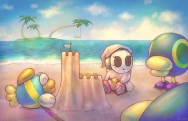Super Mario Sunshine - Gelato Beach by Louivi