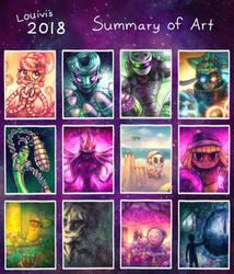 Summary of Art 2018 by Louivi
