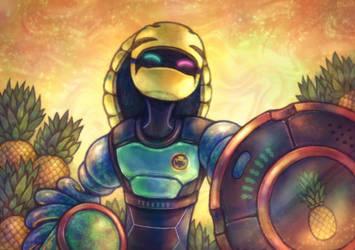 ARMS - PineappleFreak's Kid Cobra by Louivi