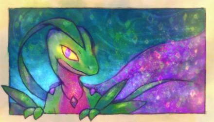 Pokemon - Alejandro the Grovyle by Louivi