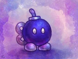 Paper Mario - Bob-omb by Louivi