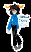 Homestuck OC: Marcie Melvin by m5w