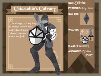 chiastolite's calvary: stibnite by m5w