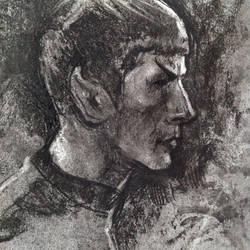 Spock (sketch 4) by Ognivik