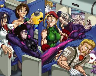 Street Fighter 5 story by senorfro