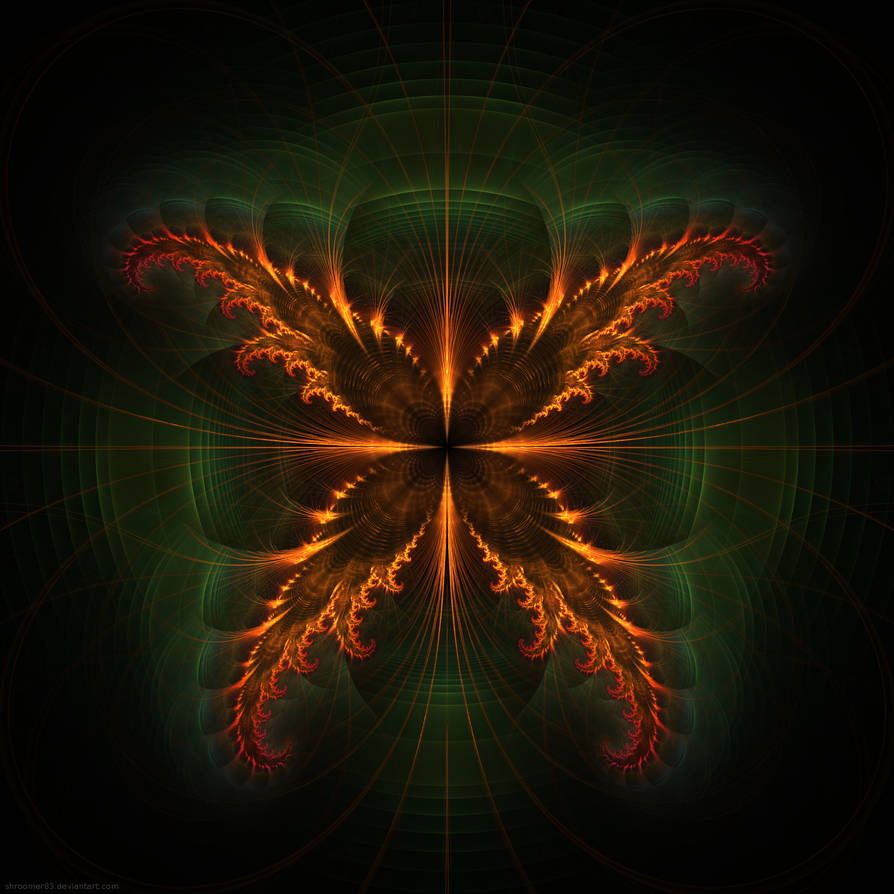 Fiery Moth by Shroomer83