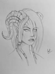 Lightforged Draenei Female by Karysia