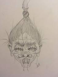 Shrunken Head by Karysia