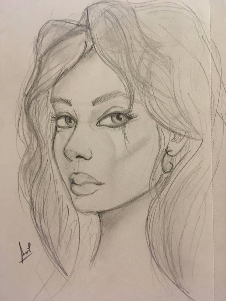 Sketch portrait  by Karysia