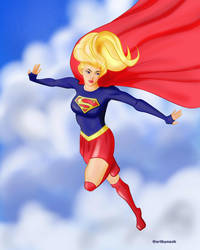 Supergirl by Nush1974