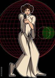 Princess Leia by Nush1974