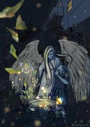 Angel in the Garden by Nush1974