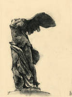 winged nike of samothrace by napoleoman