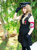 Nazi girl by chronos-drako