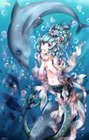 Mermaid treasure by Crossepix