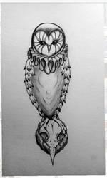Hamlet Owl by Furzepig