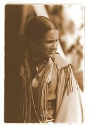 Native American Girl by superdavej