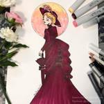 Victorian lady by yamiko-michi