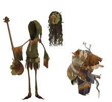 Mandolins and heads, oh my by Andoledius