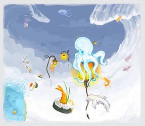 +Octopus. Dreams.+ by Andoledius