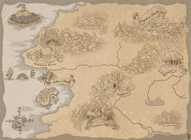World Map-Eison by Andoledius
