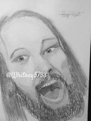 Bray Wyatt Drawing by WhitneyHarris