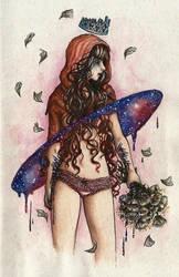Galaxy Princess by MadMonaLisa