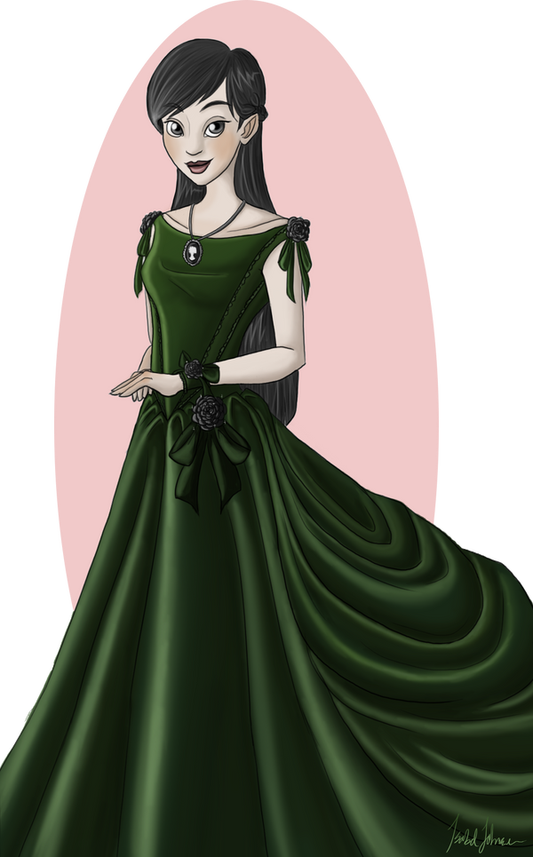 Ball Gown by issabissabel
