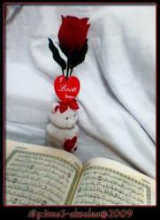Qoran - rose by Dmo3-alwalaa