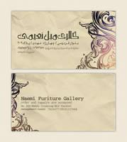 Naemi Gallery Card Visit by parmida-pro