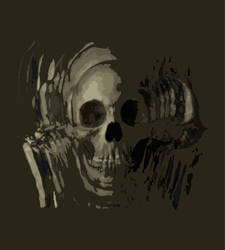 face of death shirt graphic by TAKoturtle