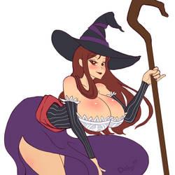 Sorceress sketch by Doby99