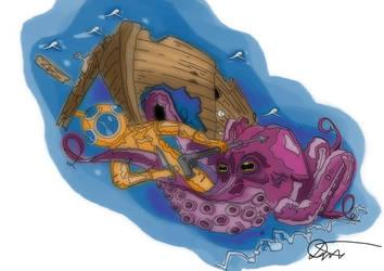 Ocean Deep by JakubDivis