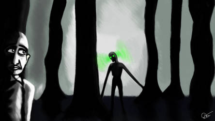 The Dark Woods by JakubDivis