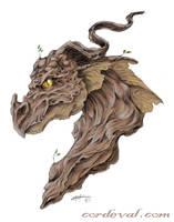 Driftwood Dragon by Amelie-ami-chan