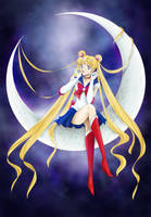 Sailor Moon by pirouchan