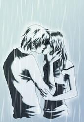 Rainy kiss by Nekonyo