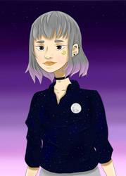 Luna the moon's daughter by SaiyanGirl01