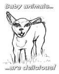 Yummy Baby Animals by BasicRowan