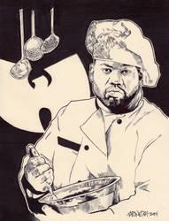 Raekwon a.k.a. The Chef - WuTang Clan by JasonKoza