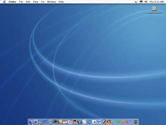 My Desktop Mac OS 10.2 Jaguar by creativespikes
