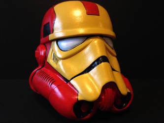 Iron Trooper Helmet by LucasDuimstra