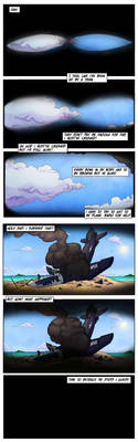 Sandbag webcomic pages 1-2 by LucasDuimstra