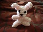 Amigurumi Bunny Pink by FrozenBleedingStake