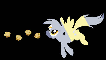 Derpy Silhouette 1 by AJHunter