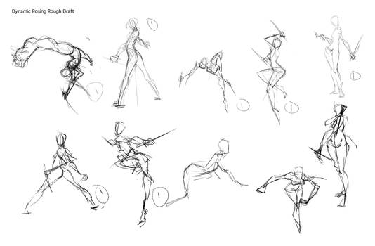 How To Draw Dynamic Poses By Thejettyjetshow On Deviantart